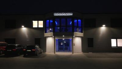 beleuchtete Werbeanlage Hohenhausen 01